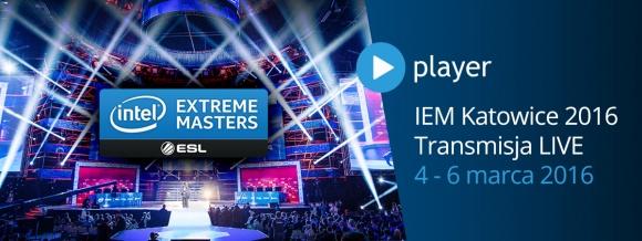 """IEM 2016 w Katowicach – """"na żywo"""" z polskim komentarzem w player.pl! Sport, BIZNES - W najbliższy weekend, 4-6 marca, w katowickim Spodku już po raz czwarty odbędą się finały tegorocznej edycji Intel Extreme Masters. Zmagania najlepszych zawodników globu będzie można śledzić dzięki platformie player.pl."""
