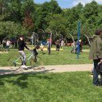 Otwarcie Parku Trampolin i eko warsztaty na Bielanach