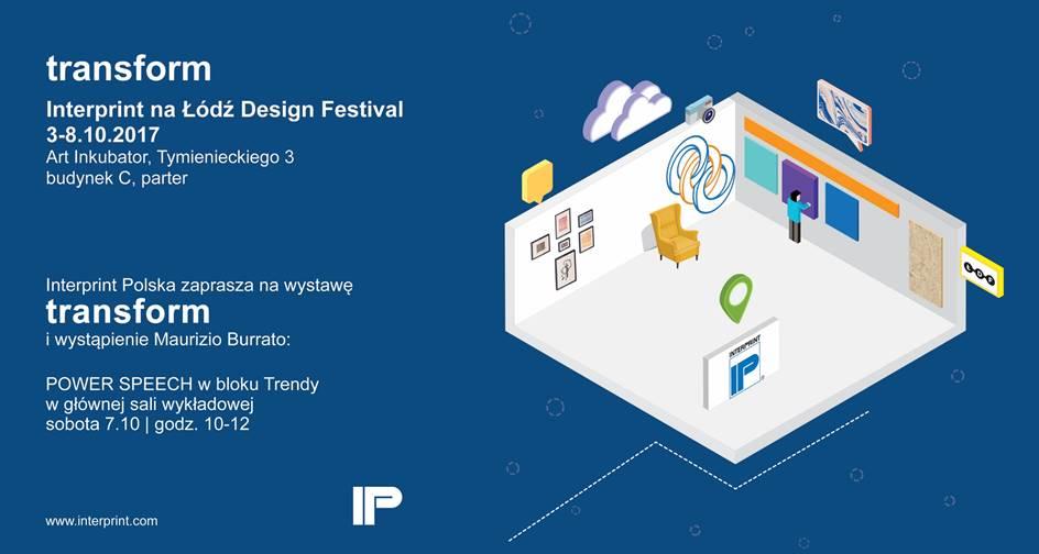 Interprint zaprasza na Łódź Design Festival