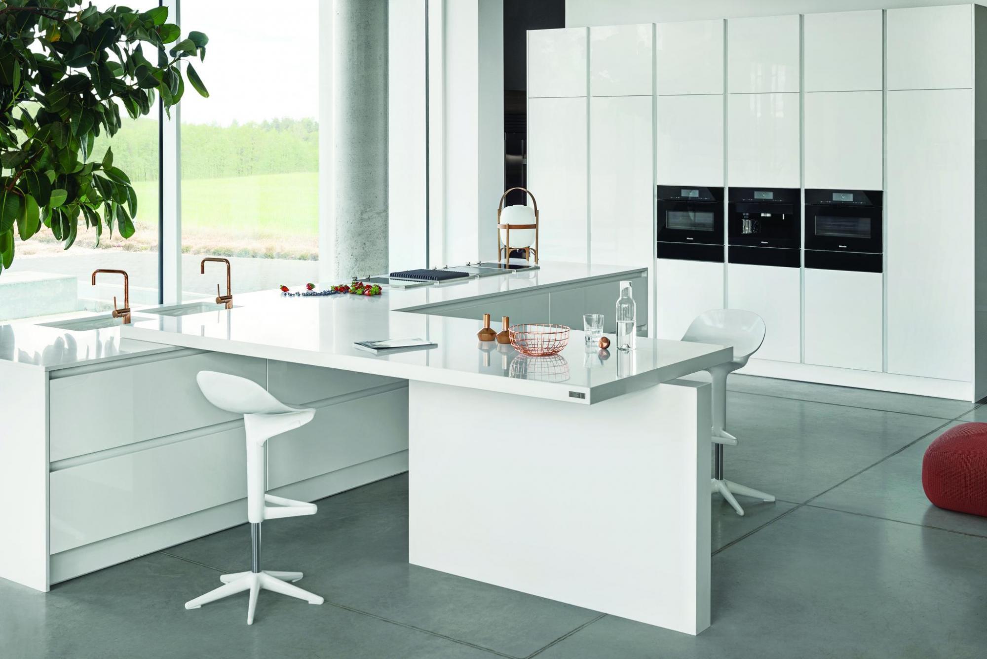 Kuchnia doceniana za minimalistyczny styl,