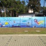 """""""Podwodny świat"""" na betonie"""