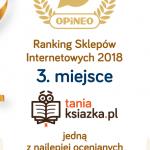 Księgarnia TaniaKsiazka.pl zdobyła Laur Opineo