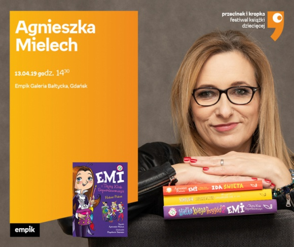 Agnieszka Mielech   Empik Galeria Bałtycka Książka, LIFESTYLE - spotkanie