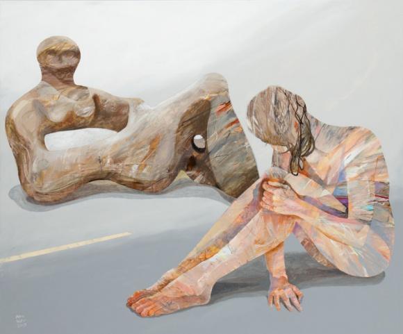 Henry Moore a Adam Wątor | Wystawa Młoda Sztuka