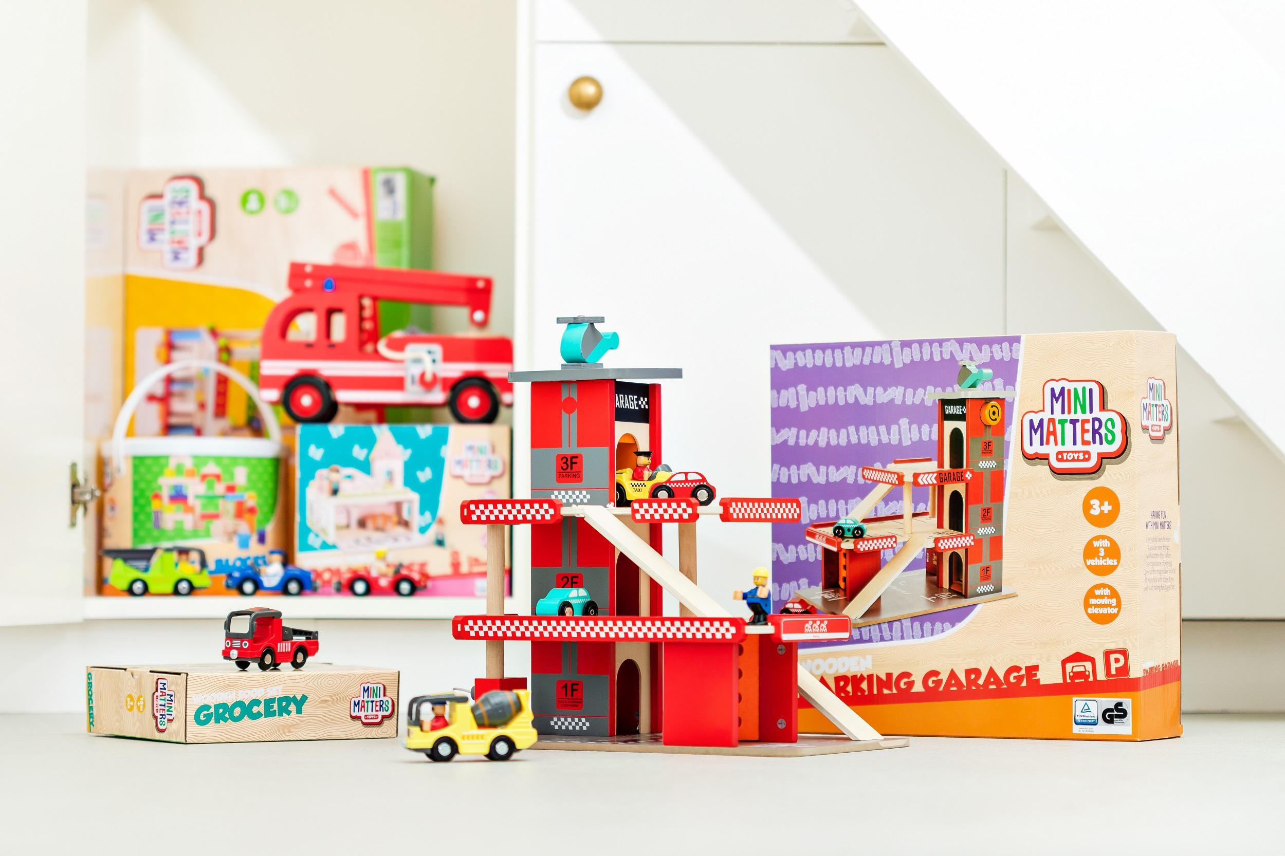 Mini Matters w Action, Wysokiej jakości drewniane zabawki w atrakcyjnych cenach!