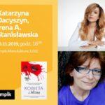 KATARZYNA DACYSZYN oraz IRENA A. STANISŁAWSKA – SPOTKANIE AUTORSKIE – ŁÓDŹ