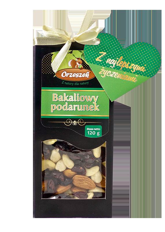 """""""Bakaliowy podarunek"""" na Walentynki, czyli zdrowa przekąska zamiast czekoladek"""