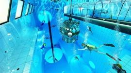 Deepspot – najgłębszy basen nurkowy z szansą na rekord Guinnessa Sport, BIZNES - W Mszczonowie pod Warszawą otworzy się Deepspot, czyli najgłębszy basen nurkowy w Polsce, który ma szansę zapisać się na kartach historii i ustanowić oficjalny rekord Guinnessa.